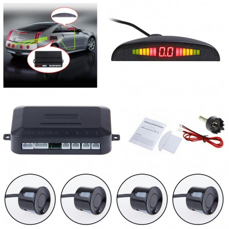 Sensor de Aparcamiento con LED Kit Auto Instalable Parktronic