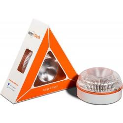 Help flash - Luz de emergencia autónoma - Señal v16 de preseñalización peligro DGT