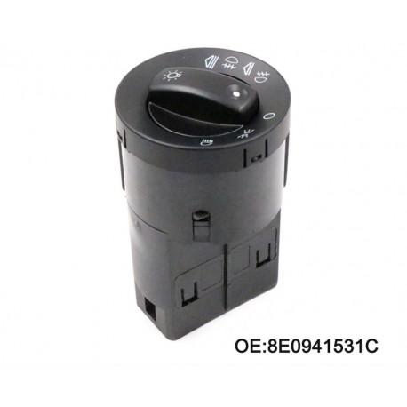 Botón Luces 8E0941531C AUDI A4 B6 2000-2004 A4 B7 2004-2007