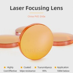 Lente LASER C02 - 20 mm diámetro x 101.6 mm ENFOQUE