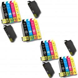 20 x T18 XL NON-OEM Cartuchos de tinta para impresora Epson XP-102 XP-202 XP-205 XP-212 XP-215